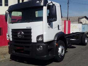 Vw 15-190 2012 Chassi Apenas 40.000km Covelp Americana
