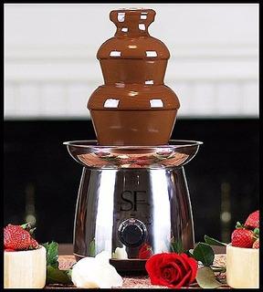 Sagra 16 Soiree Home Fuente De Chocolate De Acero Inoxidabl