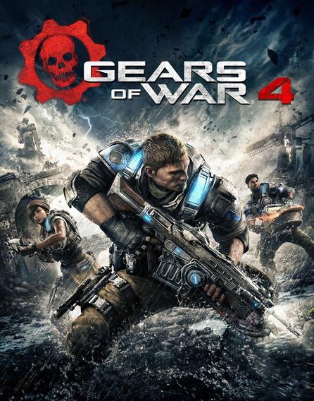 Jogo Gears Of War 4 (windows - Versão Digital)