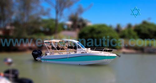 Imagem 1 de 7 de Lancha Top Fishing 26 Iate Ferretti Phantom Triton Focker