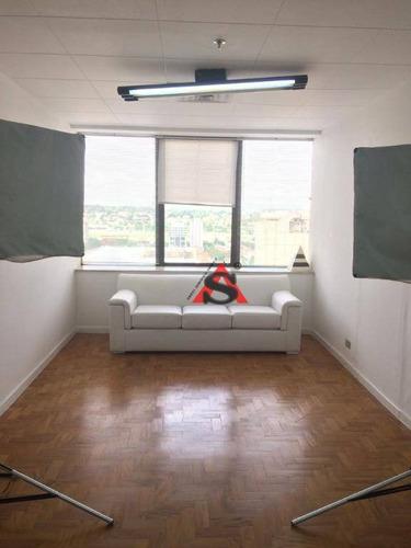 Sala Para Alugar, 27 M² Por R$ 850,00/mês - Jardim Paulistano - São Paulo/sp - Sa1286