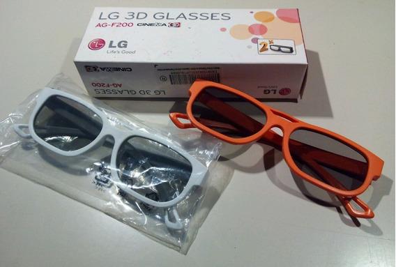 Óculos Lg Cinema 3d Ag-f200 Tecnologia Passiva, Circular