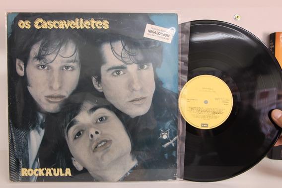 Lp Os Cascavelletes Rock´a´ula - 1989 - Com Encarte