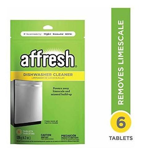 Affresh W10282479 Detergente Para Lavavajillas 6 Tabletas