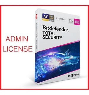 Bitdefender Total Segurity 2020 1 Pc 3 Años Garantizado
