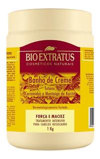 Bio Extratus Tutano Força E Maciez Banho De Creme 1kg