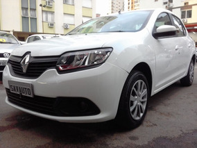 Renault Logan Authentique 1.0 16v 4p 2016 Branca Flex