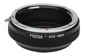 Adaptador Lente Canon Eos M4/3 Olympus Panasonic Gh3 Gh4 Gh5