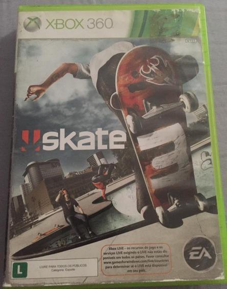 Skate 3 - Xbox 360 Original Em Mídia Física