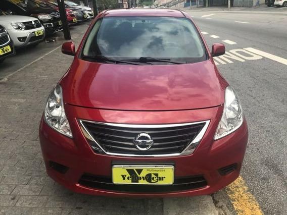 Nissan Versa Sv 1.6 16v Flex, Evs5550
