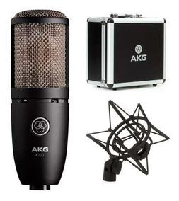 Microfone Condensador P/ Estúdio Akg Perception 220 P220
