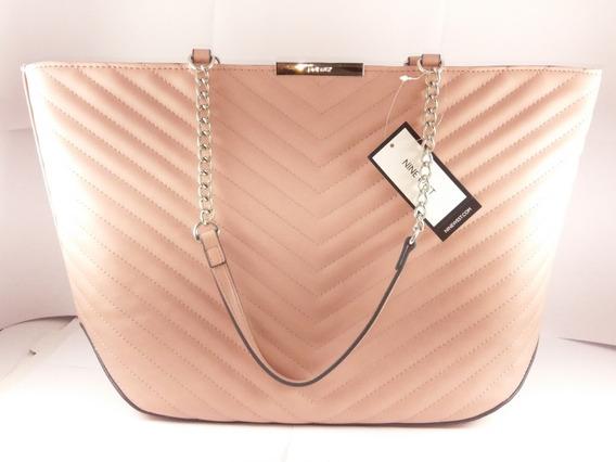 Bolsa Nine West 100% Original Para Dama Color Rosa