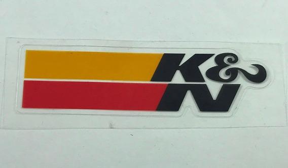 Adesivo K&n Kn K &n K N Filtro Esportivo Bmw Jetta