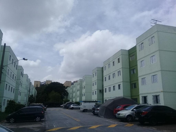 Apartamento Com 2 Dormitórios Para Alugar, 54 M² Por R$ 1.200/mês - Parque Pinheiros - Taboão Da Serra/sp. Confira! - Ap0334