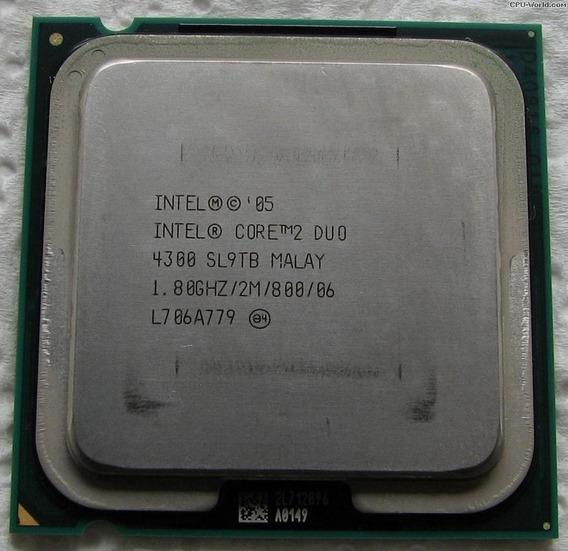 Processador Core2duo 4300 - 1.80ghz.
