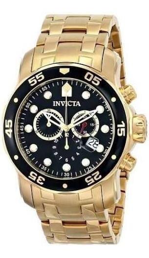 Relógio Invicta Pro Diver 0072 Com Caixa E Certificado.