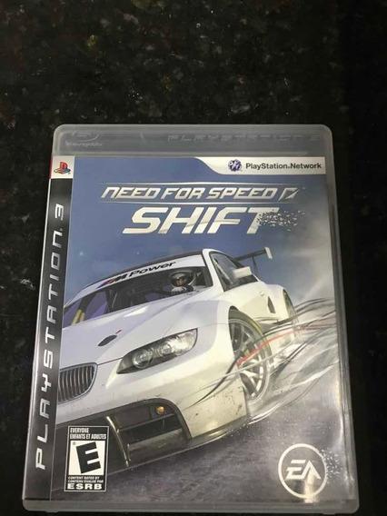 Jogo Ps3 Need For Speed Shift Original Mídia Física