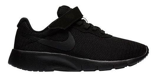 Tenis Nike Tanjun Niños Junior Negro 844868-001