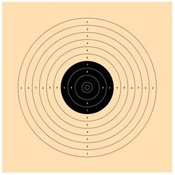 Alvo De Papel 17x17 - Pct 15 Unidades