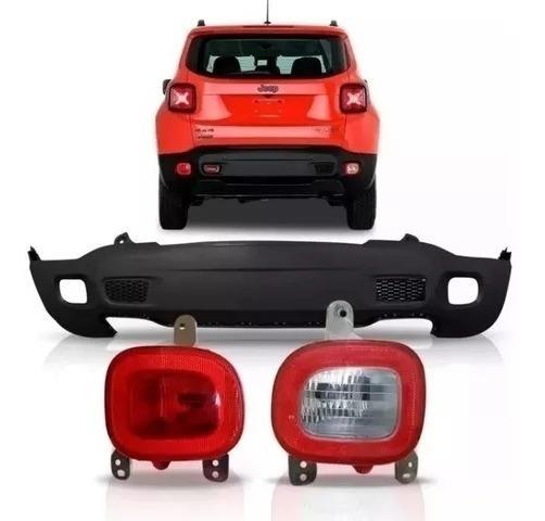 Parachoque Jeep Renegade Traseiro Par Lanterna Parachoque 3