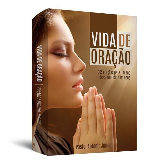 Livro Evangélico Vida De Oração - Pastor Antônio Junior