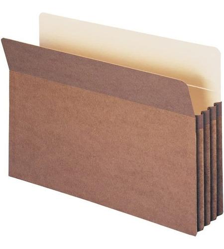 Imagen 1 de 6 de Smead - Bolsillo Para Archivos, Pestaña De Corte Recto, Exp