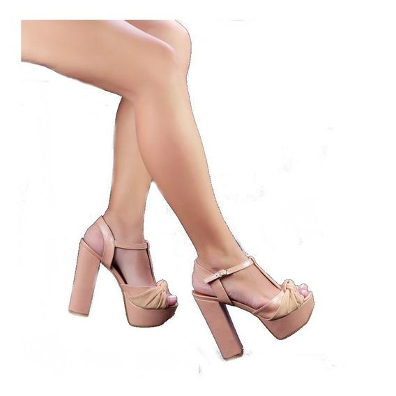 Sandalias Femininas Festa Meia Pata Salto Grosso Salto Alto Sapatos Femininos Saltos Promoção Baratos Casamento
