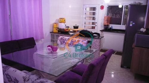 Imagem 1 de 14 de Sobrado À Venda, 125 M² Por R$ 460.000,00 - Vila Nova Bonsucesso - Guarulhos/sp - So0227