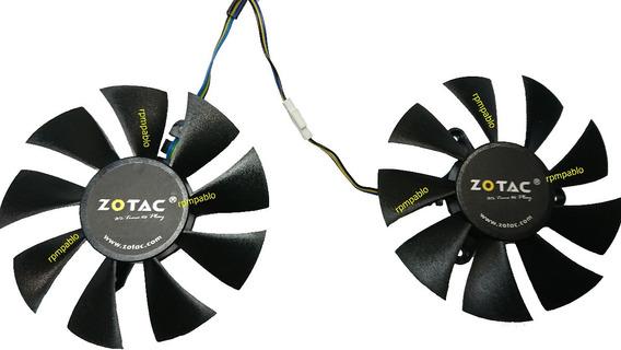 Dual Fan Placa De Video Zotac Geforce Gtx 1060 / 1070 Mini