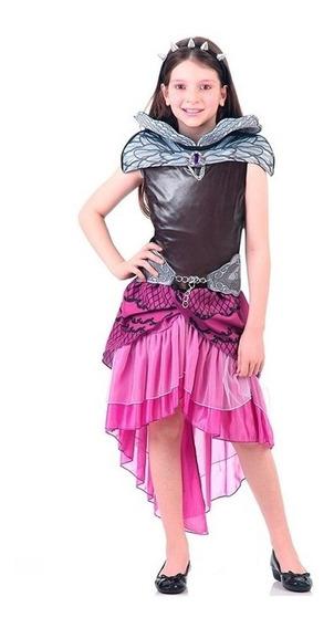Fantasia Ever After High / Raven Queen Infantil Luxo