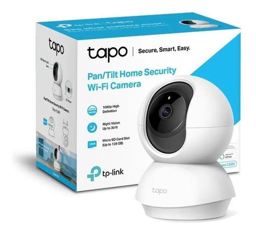 Camara Tp-link Tapo C200 Wifi 360º Fhd Grabacion Nocturna