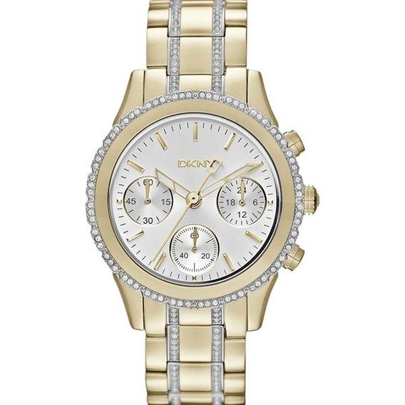 Relógio Dkny Feminino Cronógrafo Ny8707