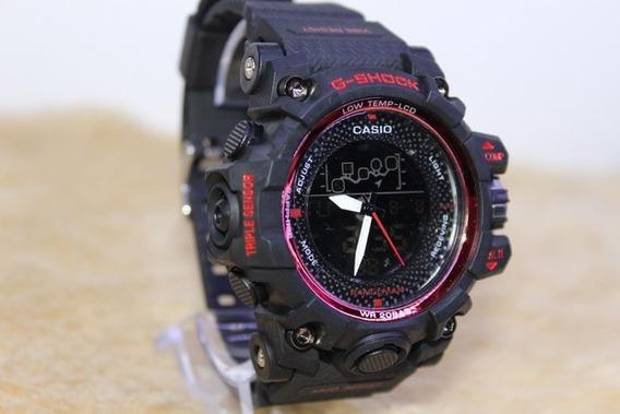 Relógio Camuflado Shock Rangeman Dual Time