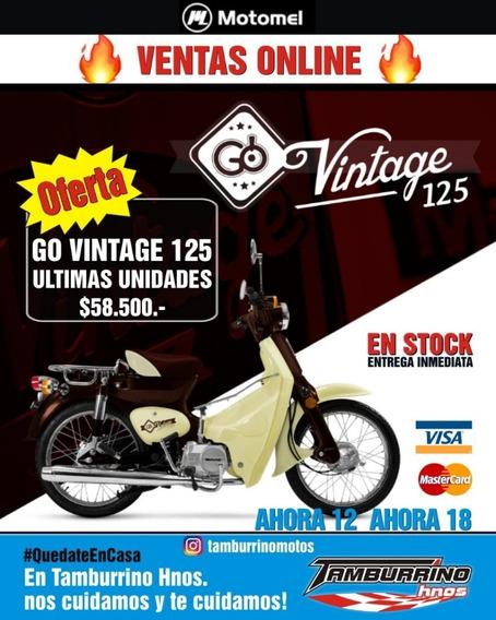 Motomel Go Vintage 125 0km Ultima Unidad Tamburrino Motos