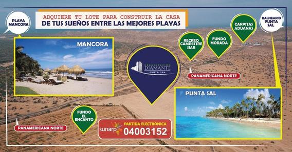 Vendo Lotes Proyecto Urb. Los Diamantes Punta Sal