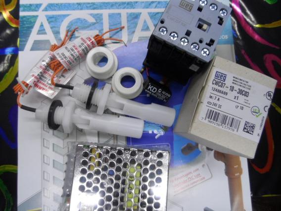 2 Sensor+ Adapt+ Orig Eicos Contator 24v+ Fonte24v+ Filtrokd