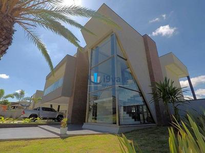 Casa Com 4 Suítes À Venda, Piscina , Elevador, Condomínio De Luxo Reserva Do Paratehy - Sjcampos-sp - Ca1183