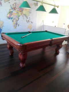 Mesa De Pool Estilo Batea Master Pool