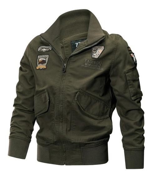 Jaqueta Militar Top Gun - Army Aeronaltica - Mod. Tom Cruise