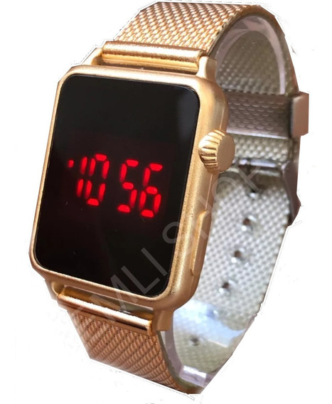 Kit 5x Relógio Feminino Atacado Revenda Digital Touch Barato