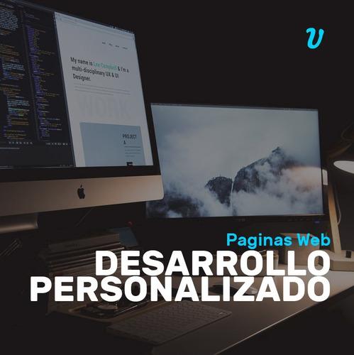 Paginas Web Personalizada Adaptable Corporativa Diseño Web