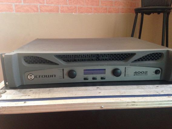 Amplificador De Potencia Crown Xti 4002