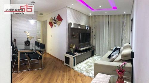 Apartamento Com 2 Dormitórios À Venda, 54 M² Por R$ 310.000,00 - Limão (zona Norte) - São Paulo/sp - Ap1835
