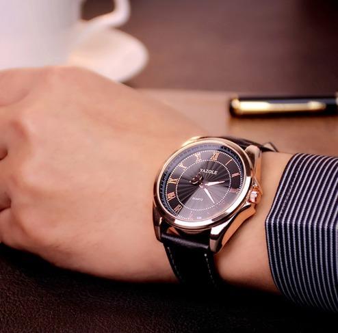 Relógio De Pulso Top Marca De Luxo Resistência A Água