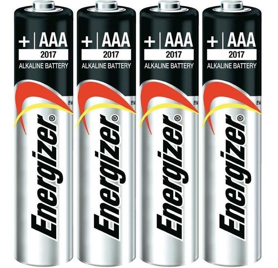 Pilas Baterías Aaa Energizer Batería Alcalina Máxima 4 Unid