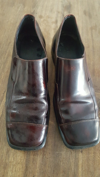 Zapatos De Vestir Marron Oscuro N 42