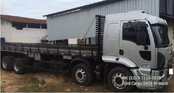 Ford Cargo 2428 Ano 2012 (ler Descriçao)