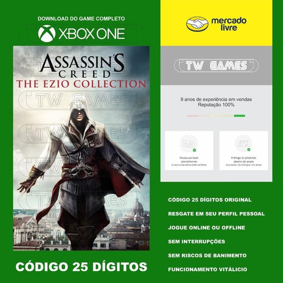 Assassins Creed Ezio Collection 25 Digitos Xbox One Fat S X
