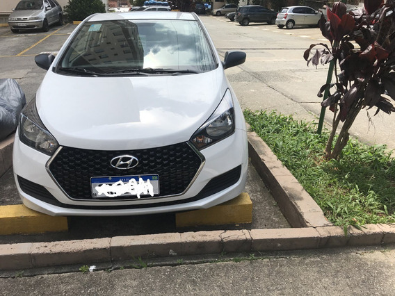 Hyundai Hb20s 1.0 Unique 2019/2019 Branco 1.100 Km De Uso