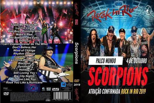 Dvd Show Scorpions Rock In Rio 2019